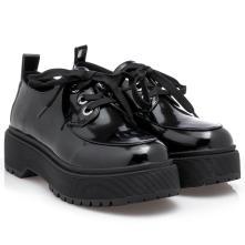 Γυναικείο Oxford μαύρο κορδόνι EXE  Ν154R508349J 2