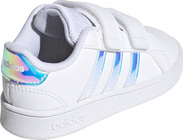 Κορίτσι Αθλητικό Grand Court I λευκό Adidas FW1276