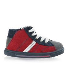Αγόρι μπεμπέ μποτάκι δέρμα Adams Shoes 5529