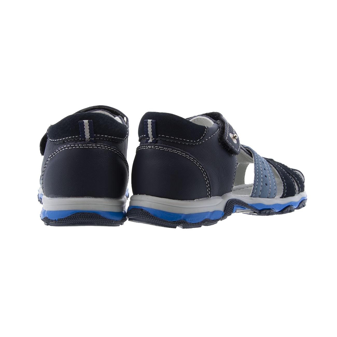 Αγόρι παπουτσοπέδιλο μπλέ IQ KIDS  LΙΝΟ-140