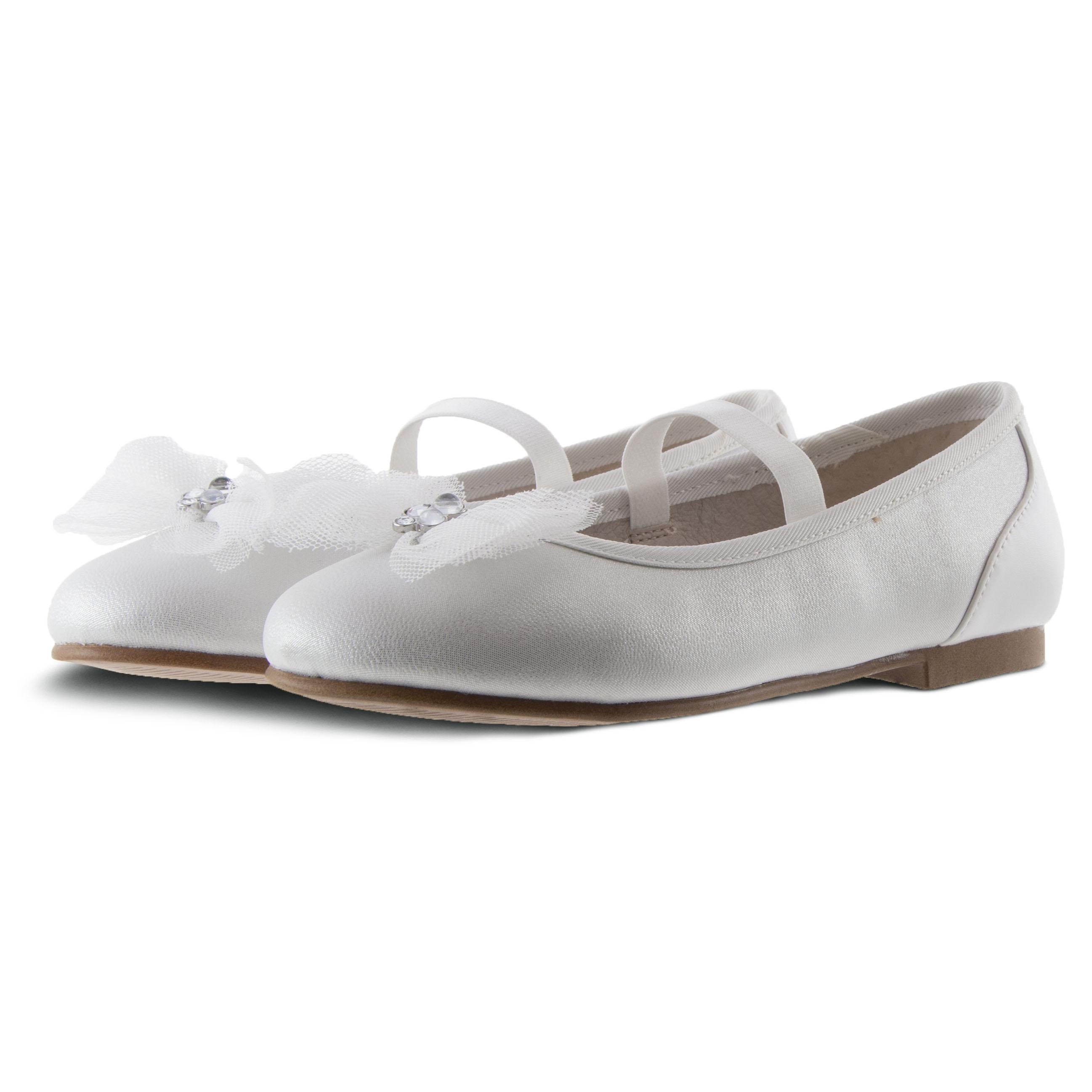 Κορίτσι μπαρέτα τούλι λευκό Mayoral 20-43149-085
