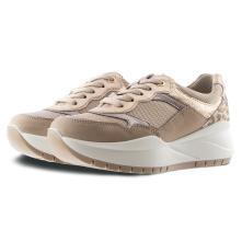 Γυναικείο Sneaker Δέρμα Μπέζ IMAC 507550 2