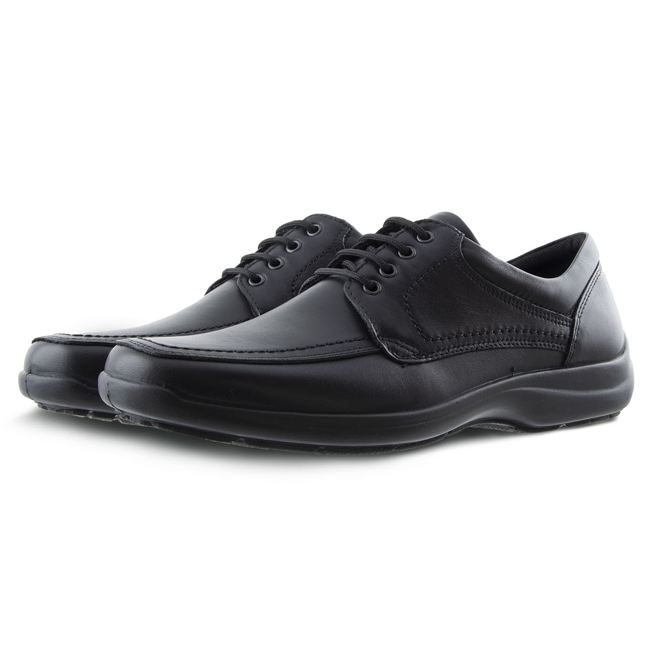 Ανδρικό δετό παπούτσι δερμα IMAC 500830