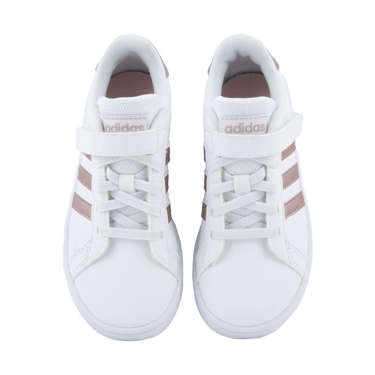 Κορίτσι αθλητικό λευκό Adidas Grand Court C   ΕF0107