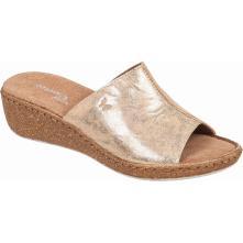Γυναικεία mule δέρμα μαύρο Adams Shoes 1-591-20038-29