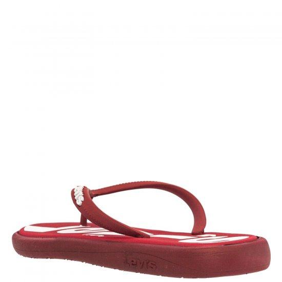 Ανδρική σαγιονάρα κόκκινο Levi's 229846-749