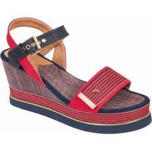 Γυναικεία πλατφόρμα πέδιλο Adams Shoes 1-820-20005-29