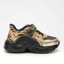 Κορίτσι Sneaker μαύρο χρυσό Lelli Kelly LK5878 2