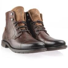 Ανδρικό μποτάκι άρβιλο δερμάτινο comfort footbed levi's 230681-706-28 2