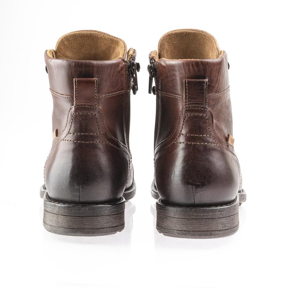 Ανδρικό μποτάκι άρβιλο δερμάτινο comfort footbed levi's 230681-706-28