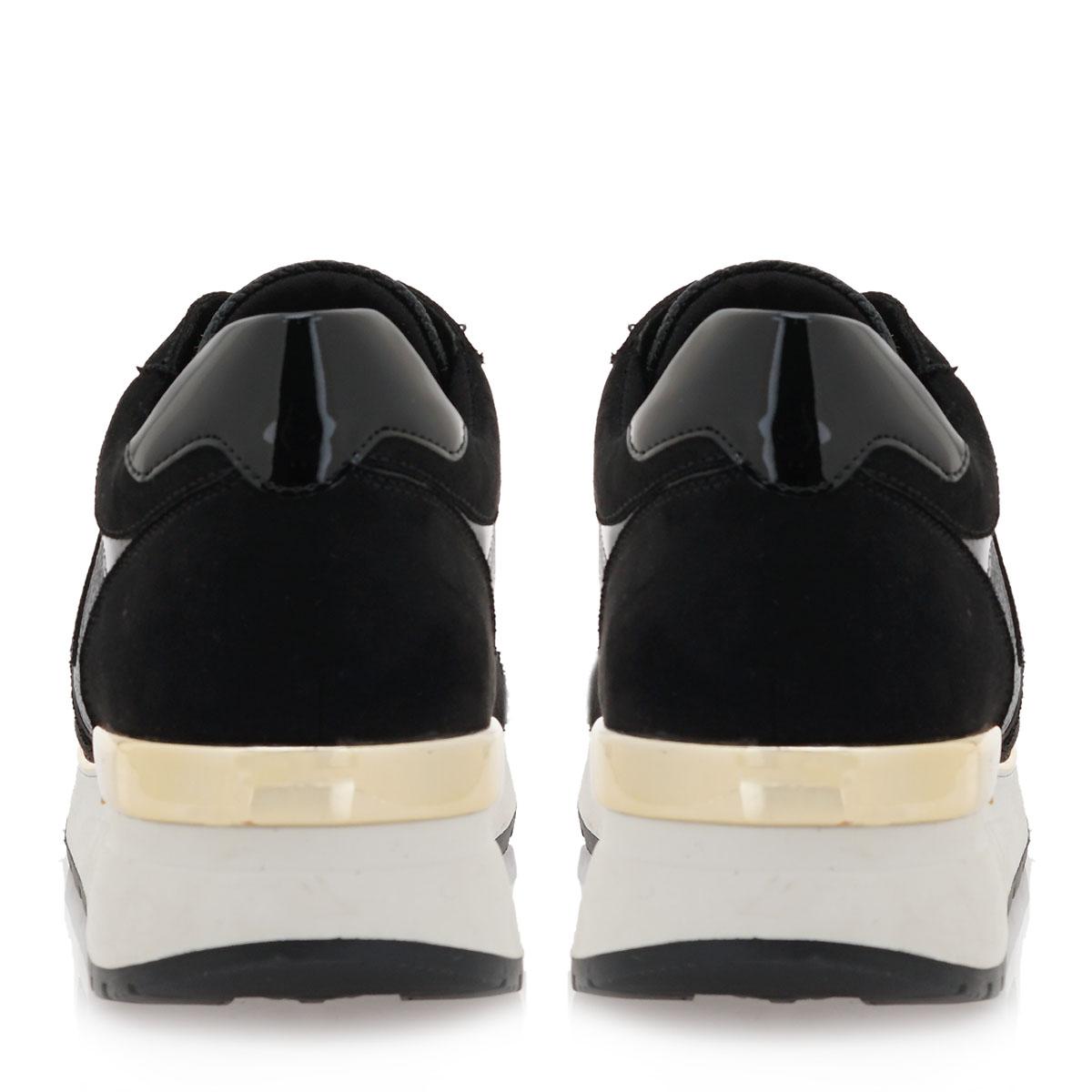 Γυναικείο Sneaker μαύρο renato Garini L119R925260F