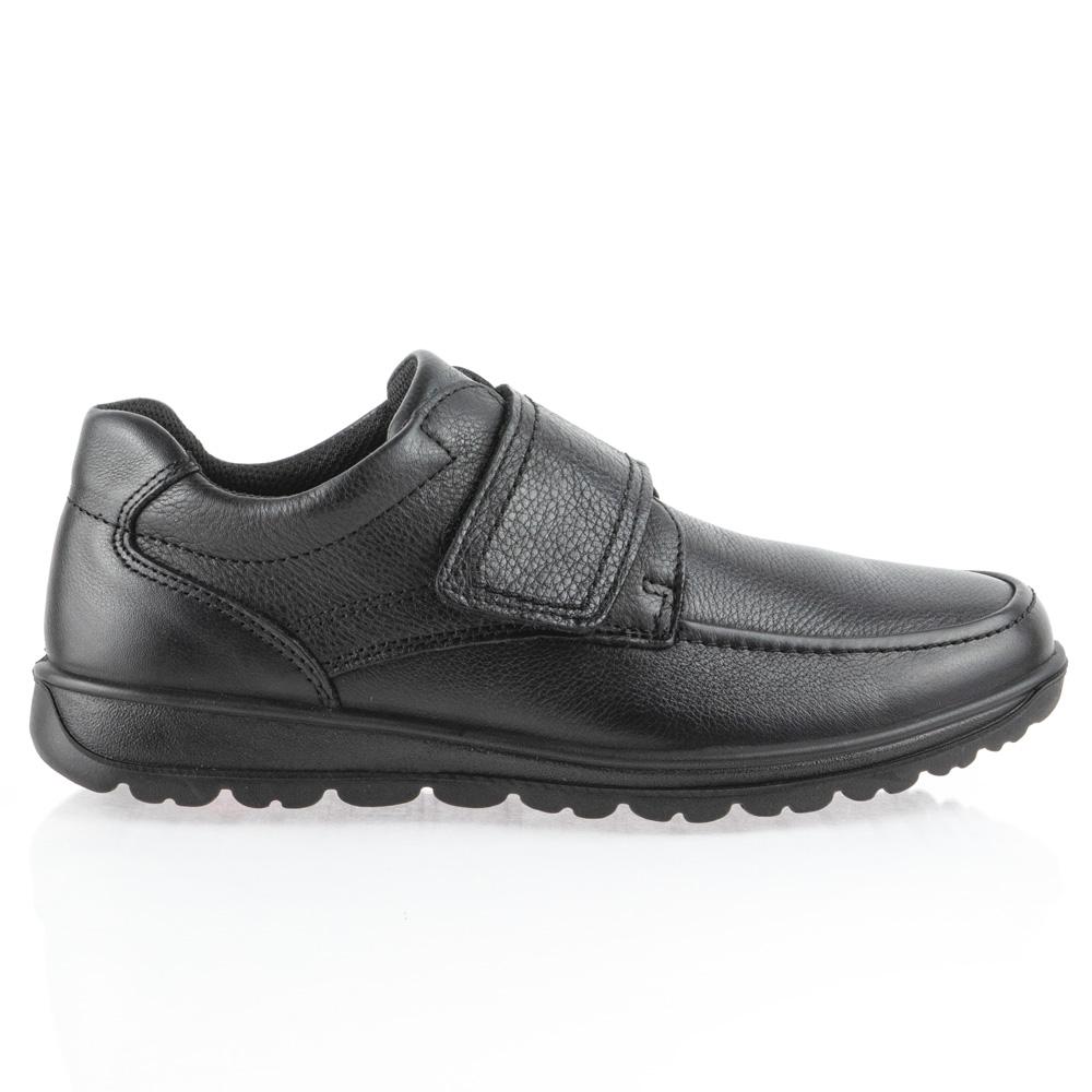 Ανδρικό ανατομικό δερμάτινο παπούτσι με σκράτς ΙΜΑ/601510