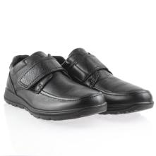 Ανδρικό ανατομικό δερμάτινο παπούτσι με σκράτς ΙΜΑ/601510 2