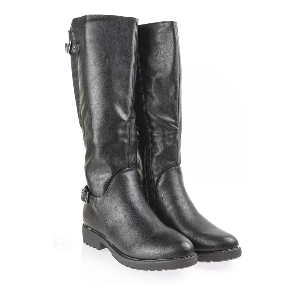 Γυναικεία μπότα ιππασίας   μαύρο   Antrin BL2020-1