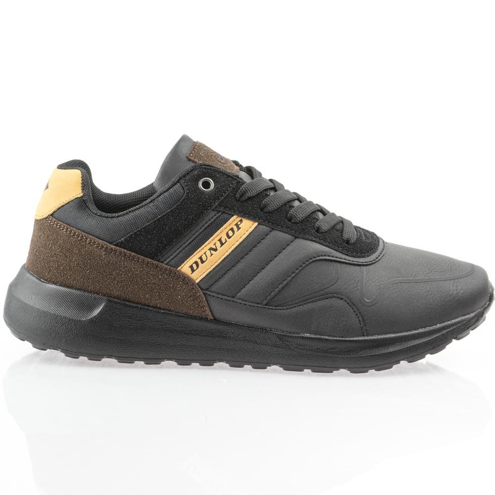 Ανδρικό casual  μαύρο Dunlop 1-250-20537-19