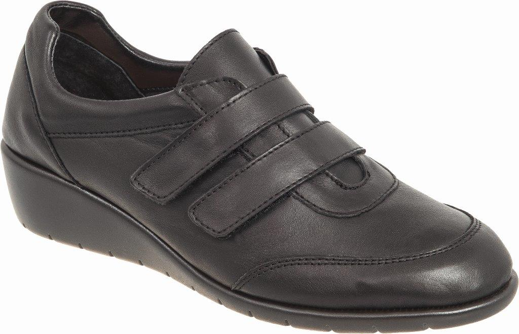 Γυναικείο ανατομικό  παπούτσι με 2 αυτοκόλητα Adams Shoes 1-697-20510-29