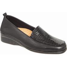 Γυναικείο παπούτσι μαύρο ADAMS SHOES 1-697-20544-29