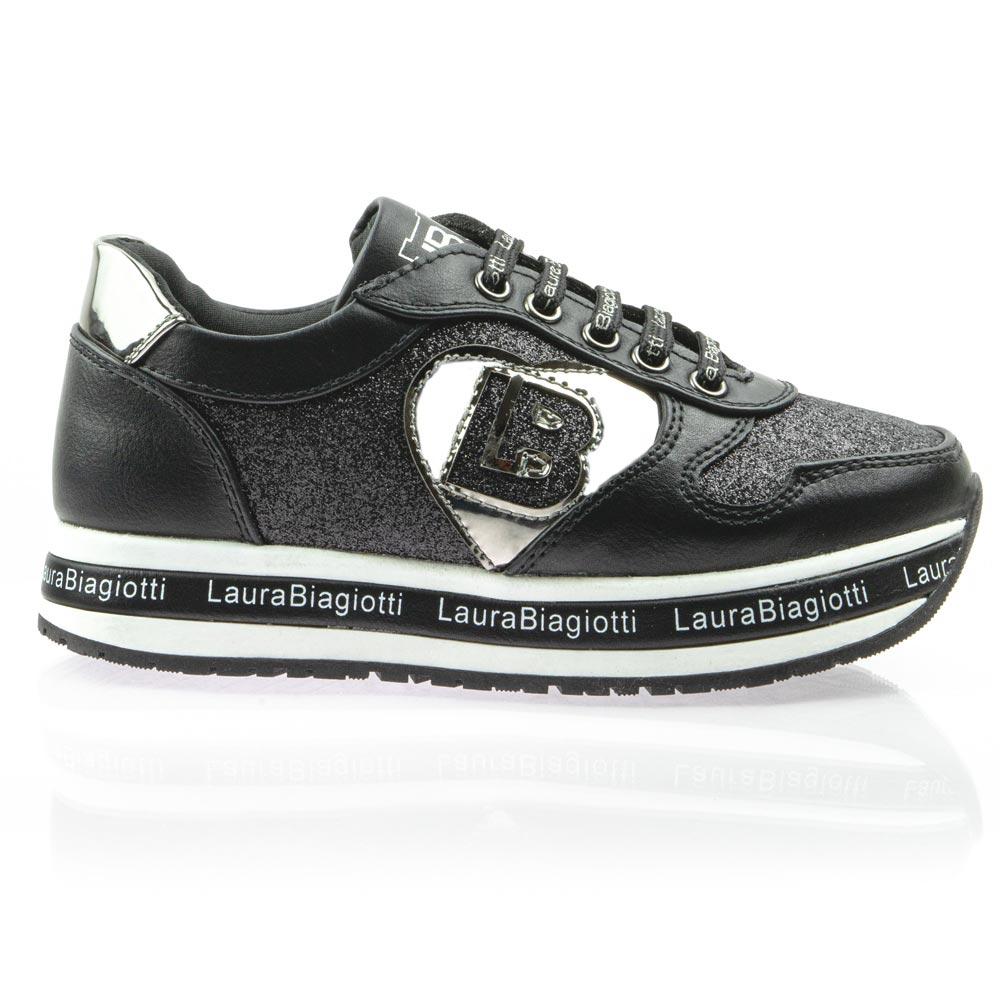 Κορίτσι Sneaker μαύρο Laura Biagiotti 6644