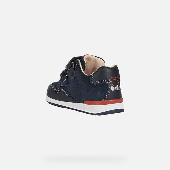 Αγόρι παπούτσι  Mickey μπλέ GEOX Β040RD 02285 C4002