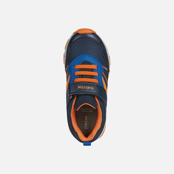 Αγόρι sneaker μπλέ Geox J04ΑCΑ 0FΕFU C0820