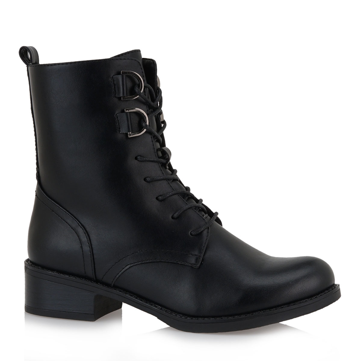 Γυναικείο μποτάκι μαύρο EXE L334Υ7162001