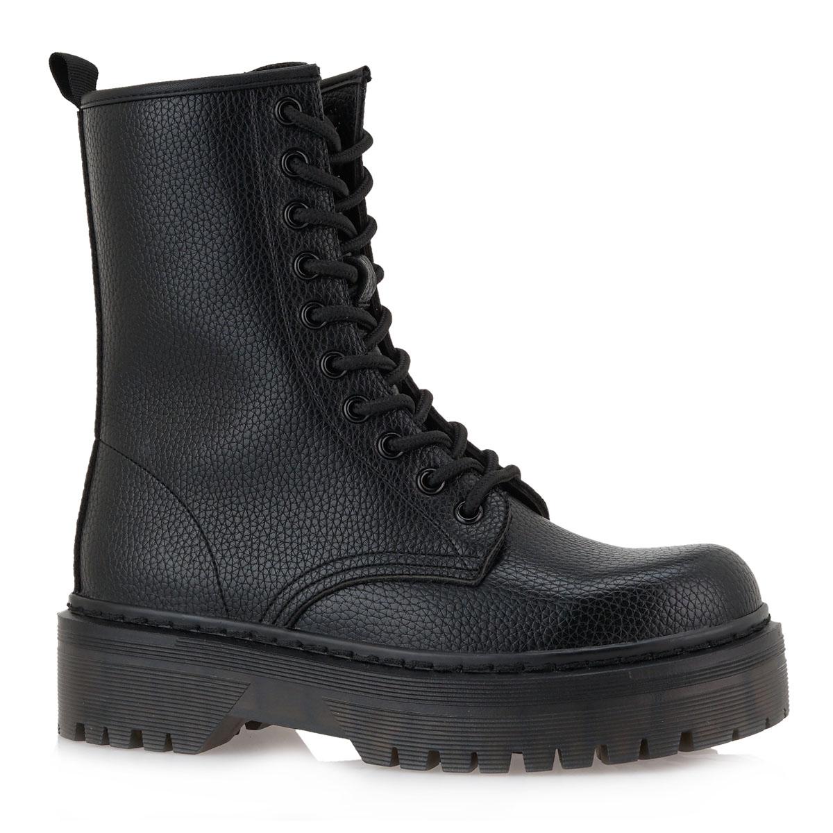 Γυναικείο μποτάκι μαύρο EXE L319R0272001