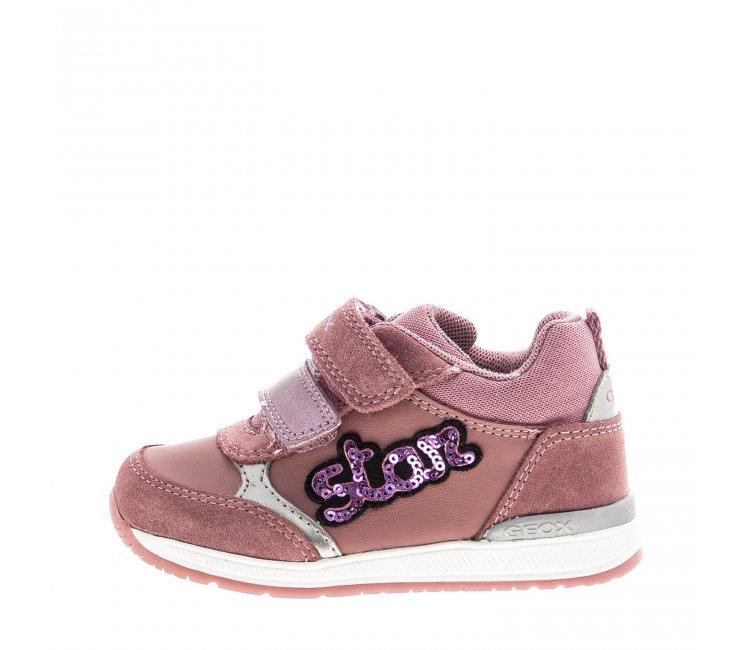 Κορίτσι sneaker ρόζ Geox Β040LΒ 08522 C8025