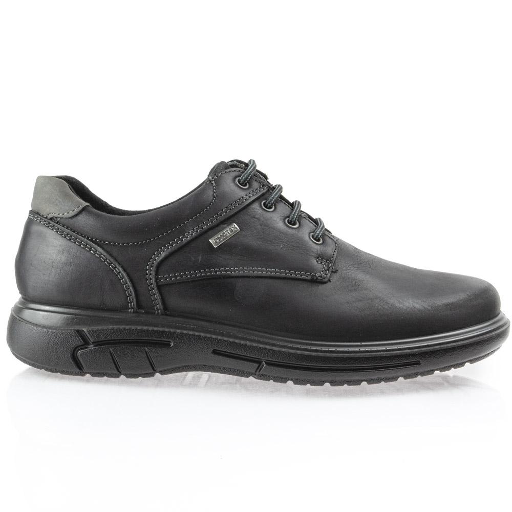 Ανδρικό παπούτσι κορδόνι δέρμα  IMAC ΙΜΑ/602018
