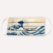 Ανδρική μάσκα THE GREAT WAVE OF KANAGAWA