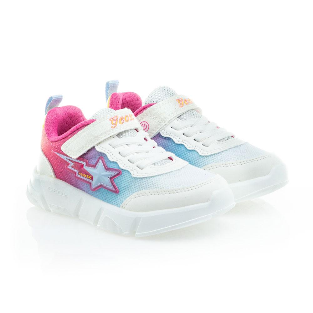 Κορίτσι αθλητικό sneaker με φωτάκια GEOX J15DLB 0AS54 C0653