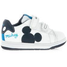 Αγόρι sneaker Mickey mouse σκρατς. GEOX Β151LΑ 08554 C0899