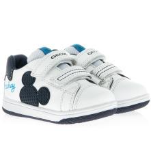 Αγόρι sneaker Mickey mouse σκρατς. GEOX Β151LΑ 08554 C0899 2