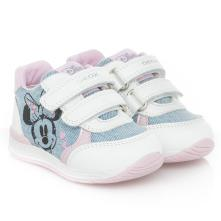 Κορίτσι bebe sneaker Minnie Mouse σκράτς GEOX Β150LC 01385 CΑ41Ζ 2