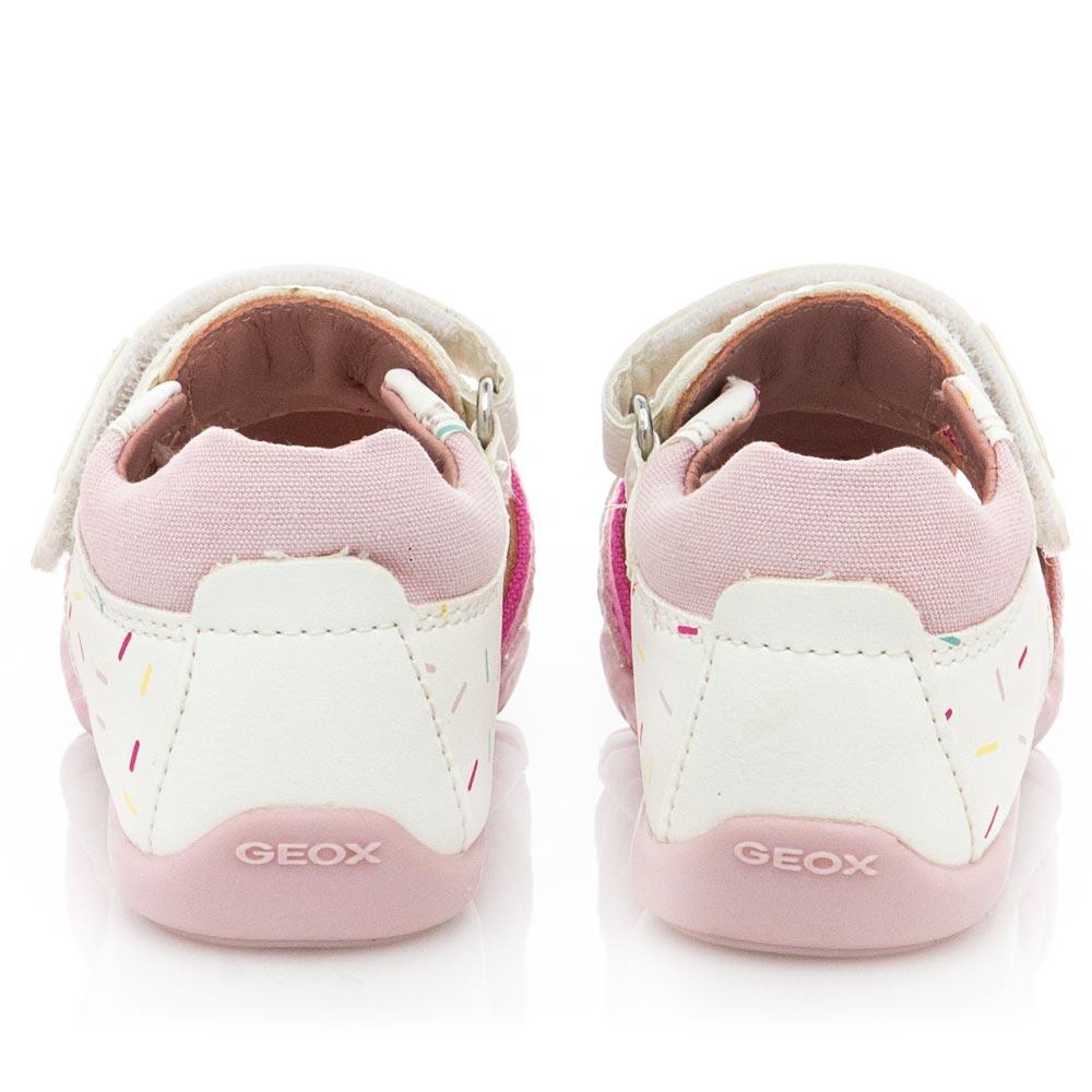 Κορίτσι bebe casual  πέδιλο κλειστό μπροστά. GEOX Β151QD 05410 C0406