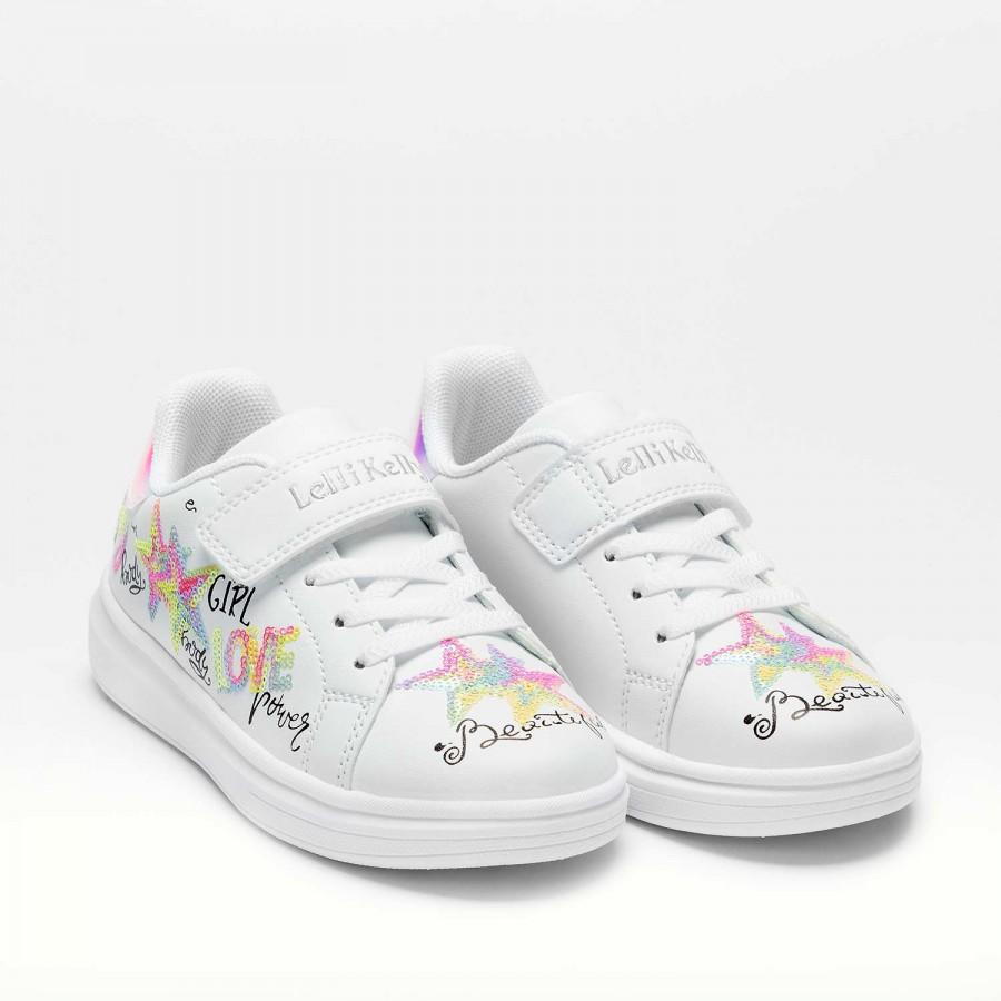 Κορίτσι Sneaker λευκό LK7818