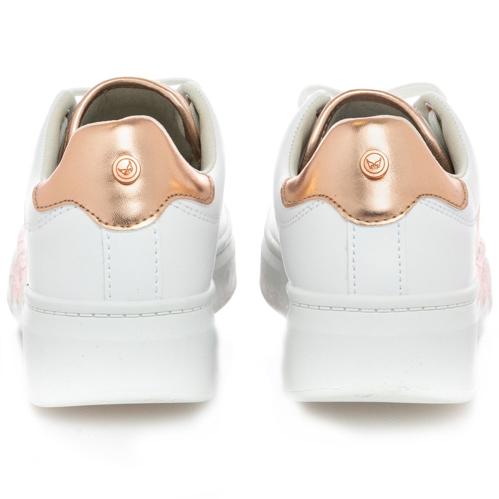 Γυναικείο Sneaker λουλούδια Renato Garini Μ157Q2192S38