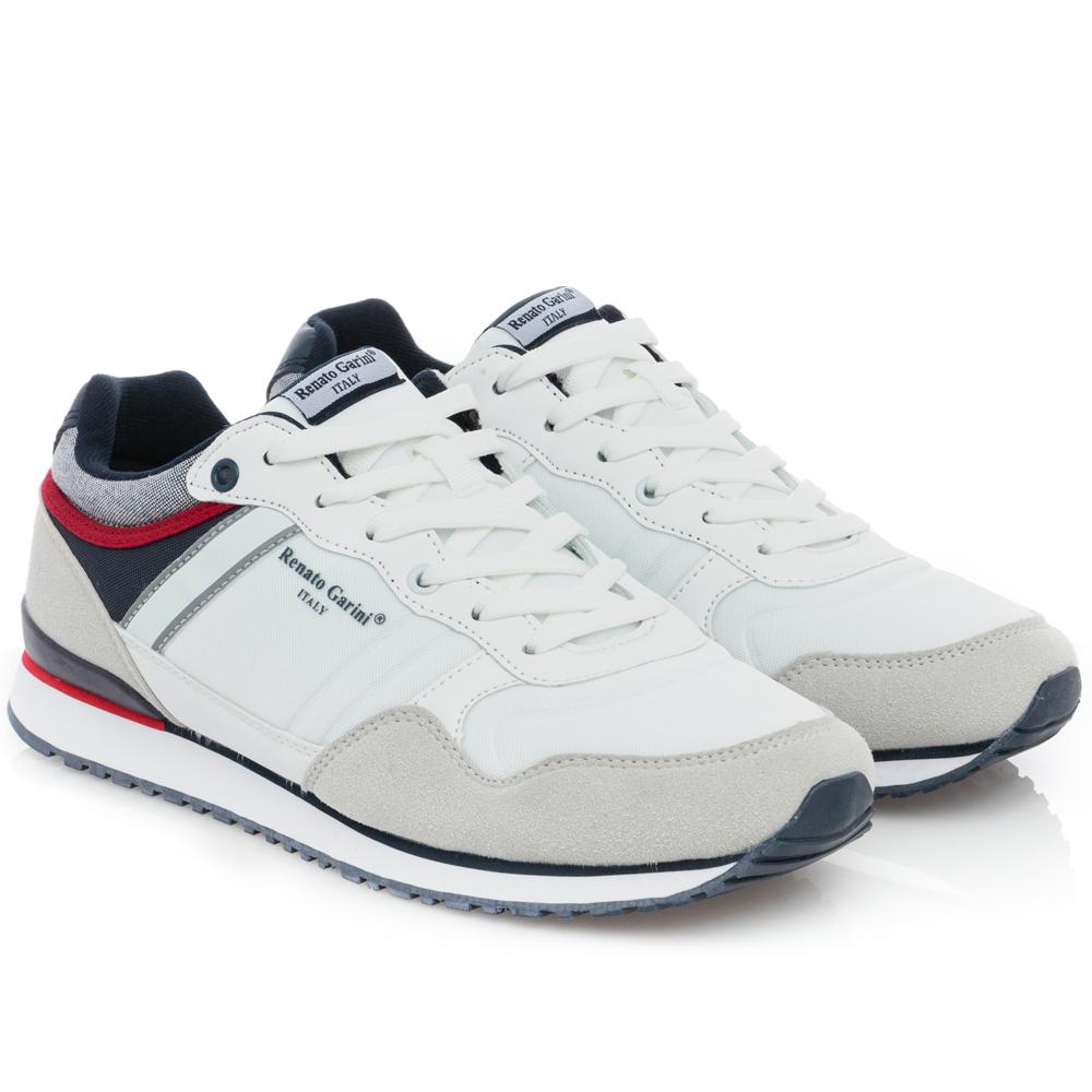 Ανδρικό Sneaker λευκό Renato Garini Μ502Χ6181Κ22