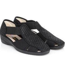 Γυναικέιο παπουτσοπέδιλο μαύρο Adams Shoes 1-624-21014-25 2