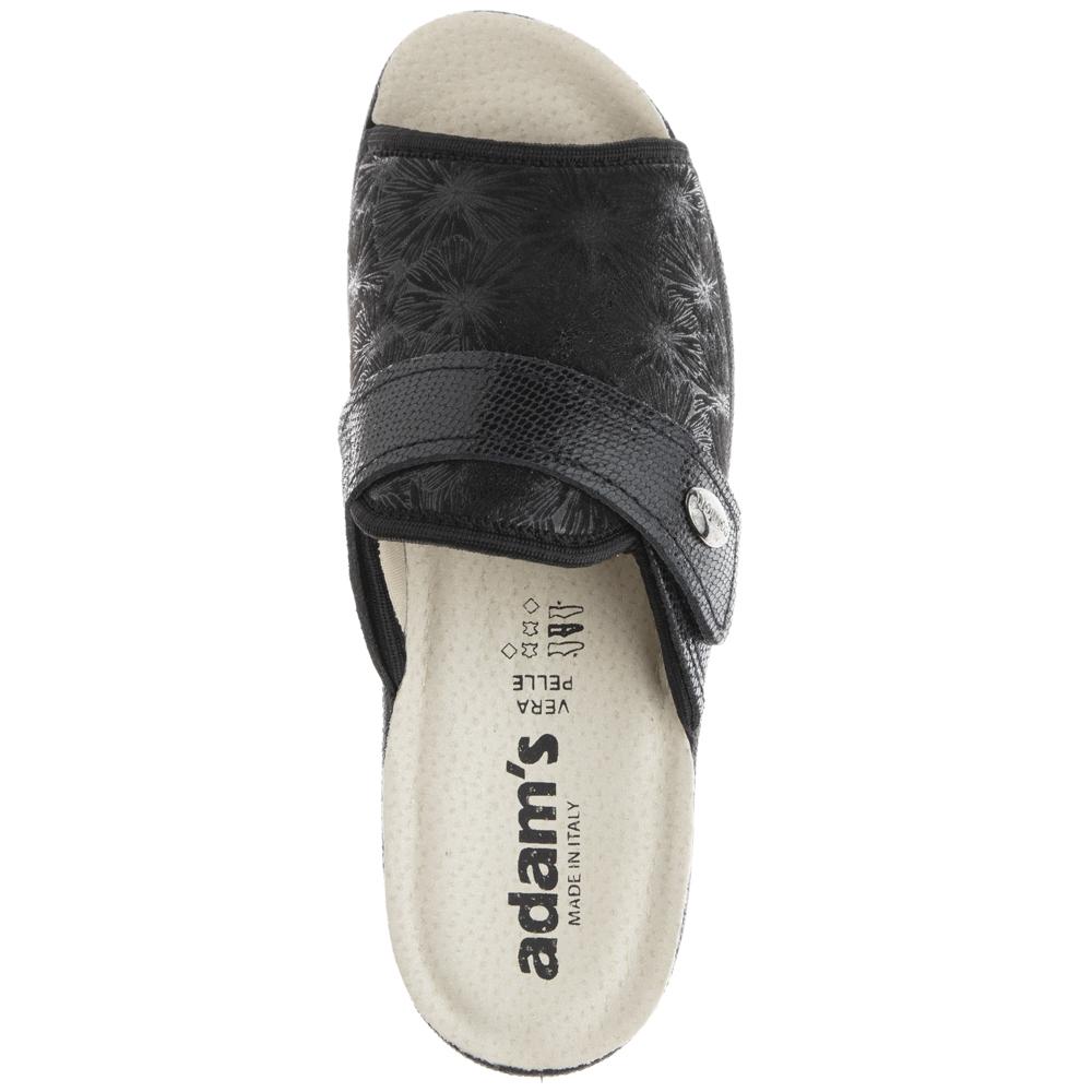 Γυναικεία παντόφλα μαύρο Adams Shoes 1-381-20004-25