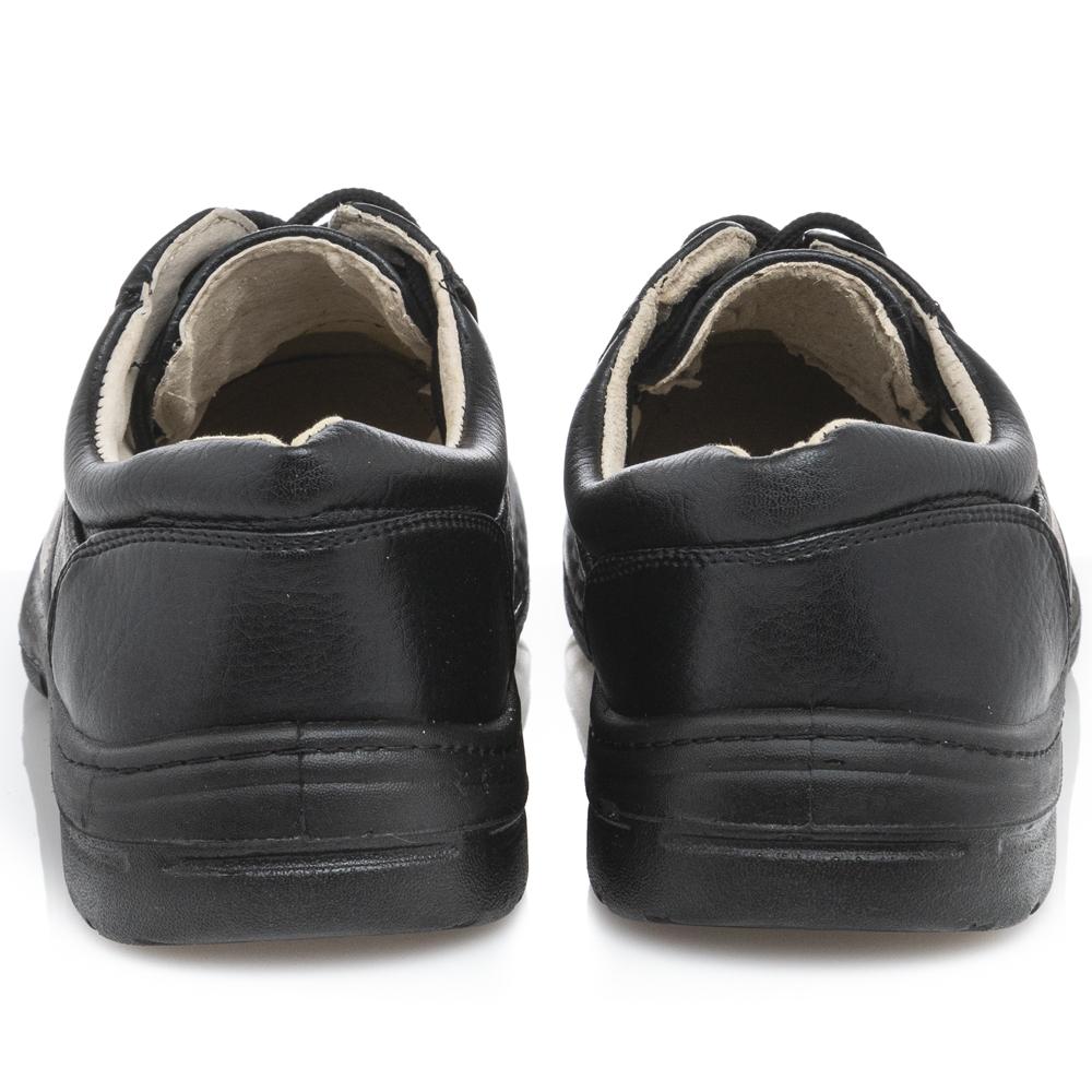 Ανδρικό κορδόνι μαύρο Il Mondo Comfort ΚL56901