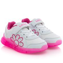 Κορίτσι Sneaker φωτάκια άσπρο LK7878 2