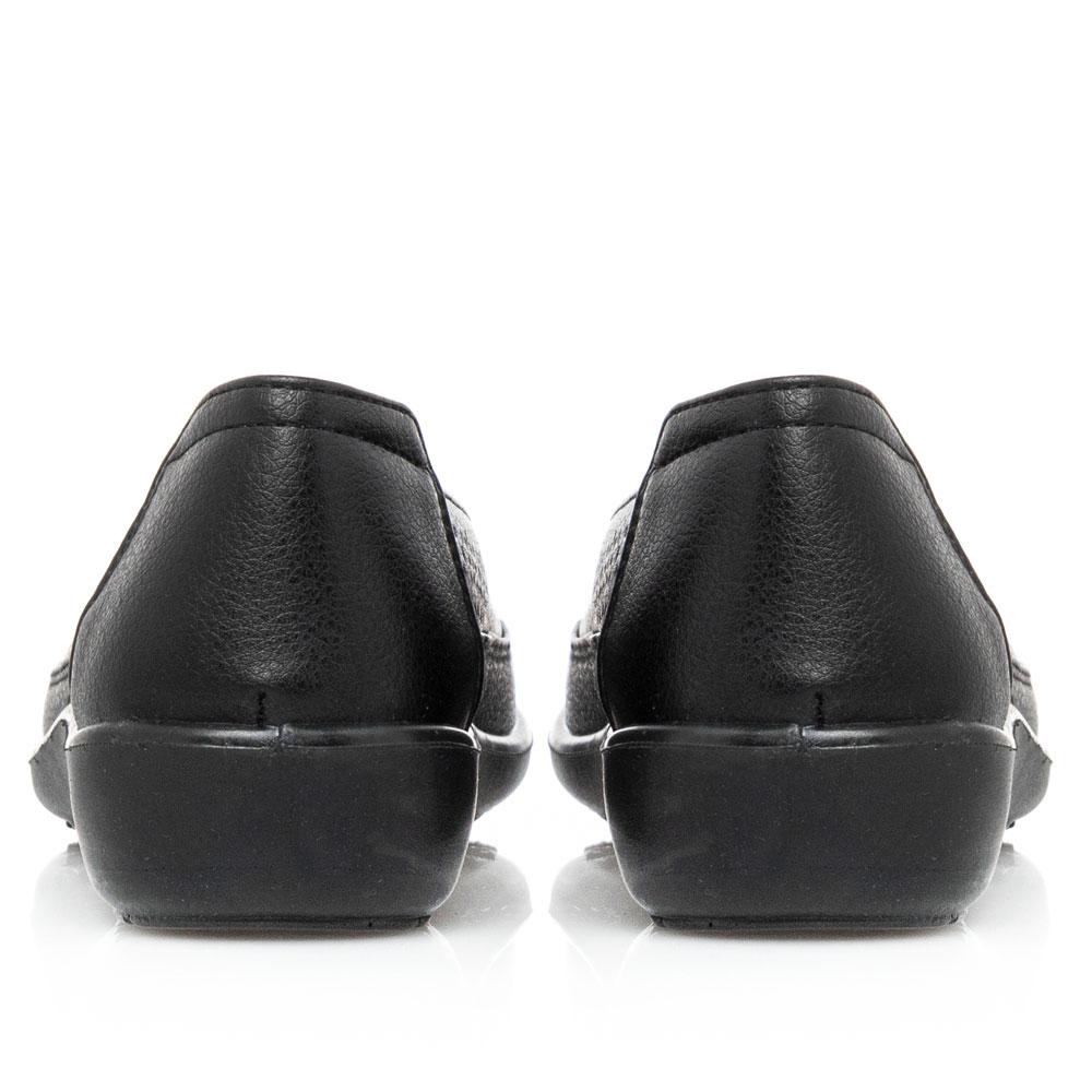 Γυναικείο μοκασίνι Μαύρο Antrin FREDA-140