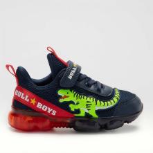 Αγόρι Sneaker με Δεινόσαυρο και Φωτάκια Bull Boys BB2130