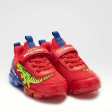 Αγόρι Sneaker με Δεινόσαυρο και Φωτάκια Bull Boys BB2130 2