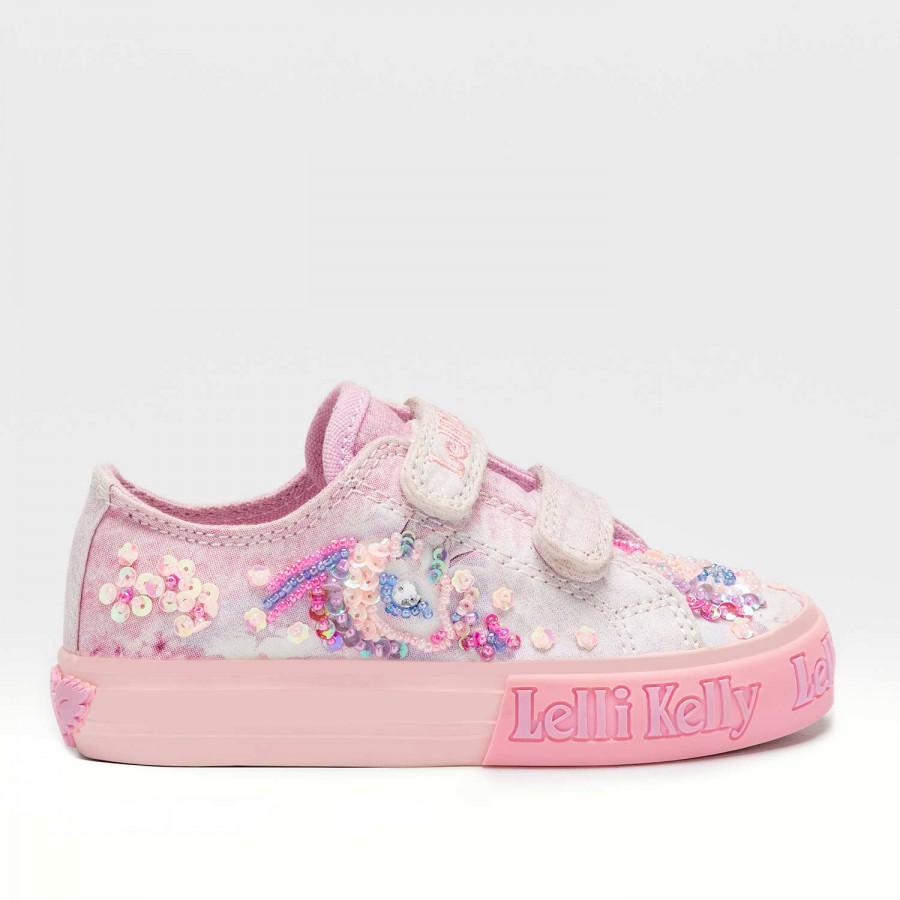 Κορίτσι sneaker  ρόζ Μονόκερος Unicorn LK7018