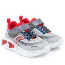 Αγόρι sneaker Γκρί Geox J15DΖΑ 00011 C0051 2