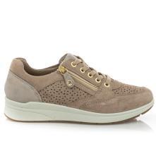 Γυναικείο Sneaker μπέζ δέρμα IMAC  ΙΜΑ/706840