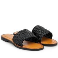 Γυναικείο σανδάλι μαύρο Venini  S37-13268-34 2