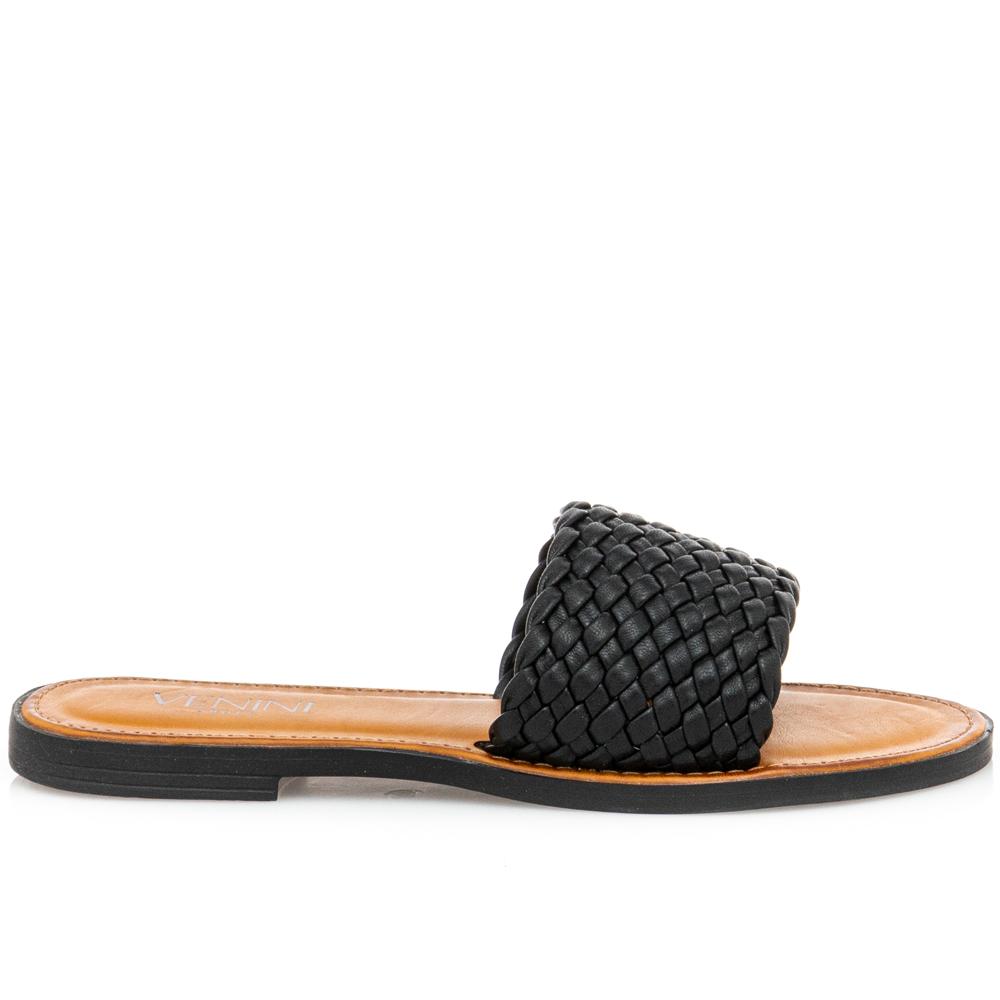 Γυναικείο σανδάλι μαύρο Venini  S37-13268-34