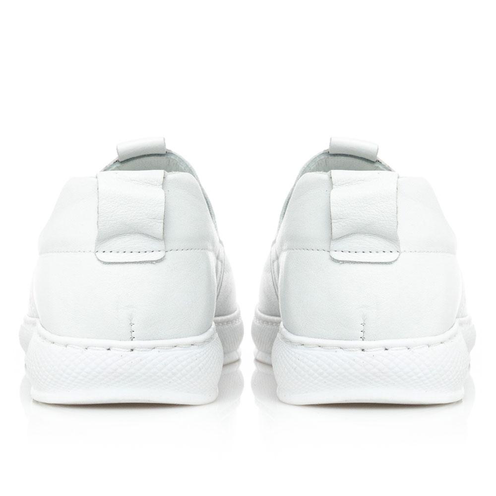 Γυναικείο sneaker δέρμα άσπρο  Boxer 96028 10-001